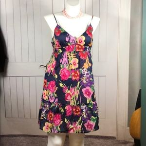 AMERICAN EAGLE OUTFITTERS FLORAL DRESS 👗 SIZE 18